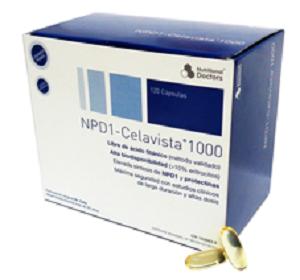 NPD1 Celavista 120 cápsulas