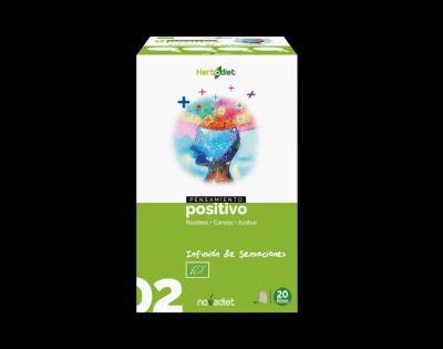 Infusión Pensamiento Positivo noVadiet 20 filtros