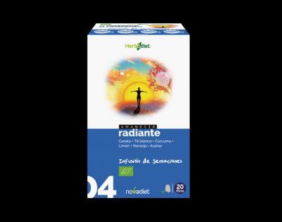 Infusión Amanecer Radiante noVadiet 20 filtros