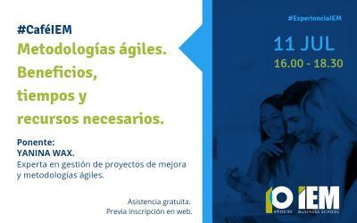 Café IEM: Metodologías ágiles