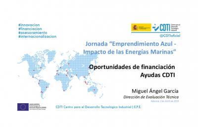 Oportunidades de financiación (CDTI)