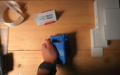 Impresión 3d de prototipo flexible