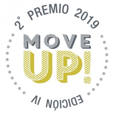 SELLO GANADOR 2ª PREMIO MOVE UP IV EDICIÓN