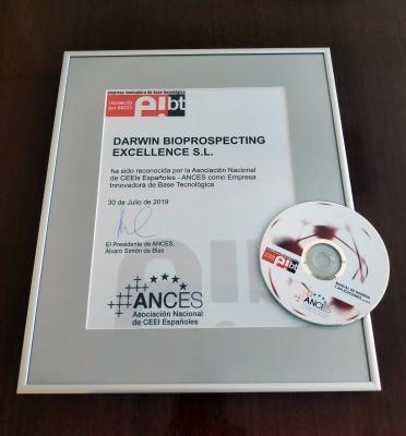 Certificación EIBT y manual de uso Darwin Bioprospecting