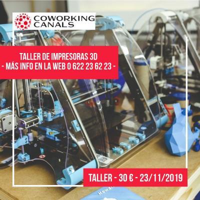 Taller de impresoras 3D