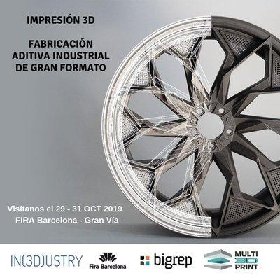 Multi3dPrint presentará STUDIO G2, la nueva impresora 3d BigRep en INDUSTRY