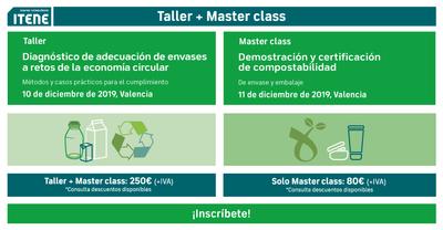 Taller masterclass sostenibilidad envases