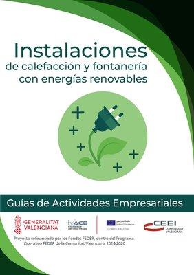 Instalaciones de calefacción y fontanería con energías renovables