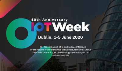 IOT WEEK DUBLIN 2020