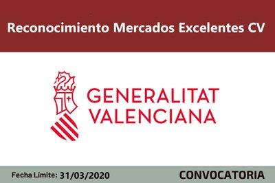 Reconocimiento Mercados Excelentes CV 2020
