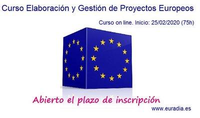Curso Elaboración y Gestión de Proyectos Europeos