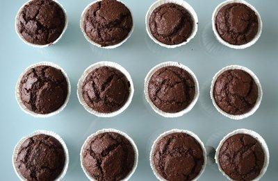 Receta de Magdalenas de chocolate caseras
