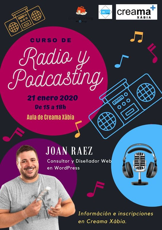 taller radio podcasting