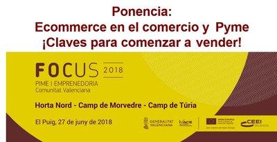 Ponencia: Ecommerce en el comercio y Pyme ¡Claves para comenzar a vender!.