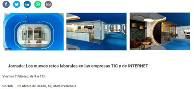 cartel Jornada Retos empresas TIC