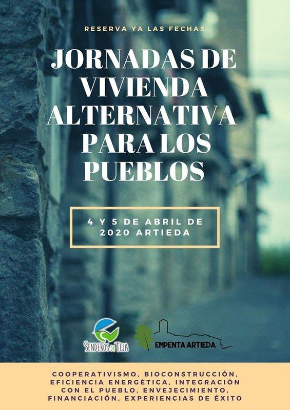 Jornada viviendas contra la despoblación en Artieda