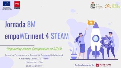 Jornada 8M empoWErment 4 STEAM