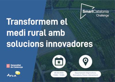 Presentación de retos SmartCatalonia Challenge