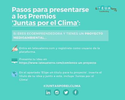 II Edición de los premios 'Juntas por el Clima' para ecoemprendedoras