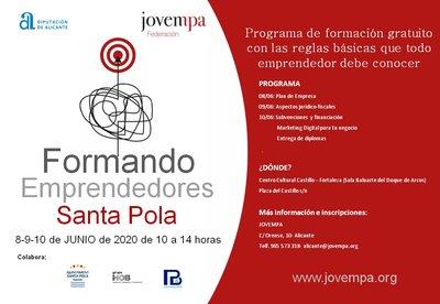 Formando a emprendedores en Santa Pola