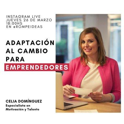 Adaptación al cambio para emprendedores