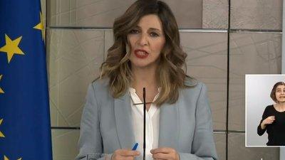 Yolanda Díaz Ministra de Trabajo del Gobierno de España