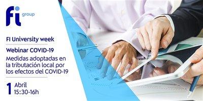 Webinar sobre las medidas adoptadas en la tributación local debido al COVID-19