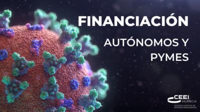 Financiación dirigida a personas trabajadoras autónomas y pymes para sobrevivir al COVID19