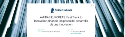 AYUDAS EUROPEAS: Fast Track to Innovation