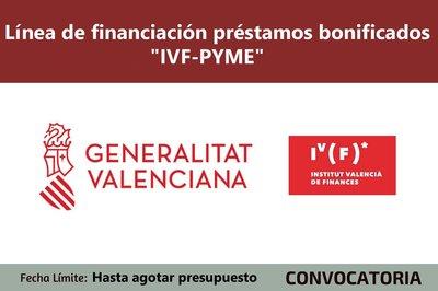 Línea Financiación Bonificada IVF – Pyme