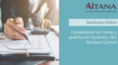 Webinar Contabilidad y analítica en Business Central