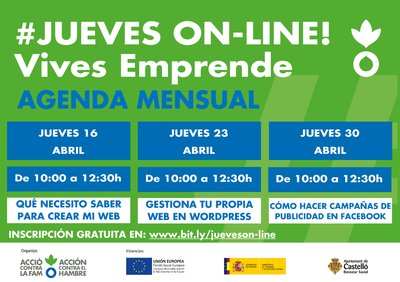 #Jueves on-line!