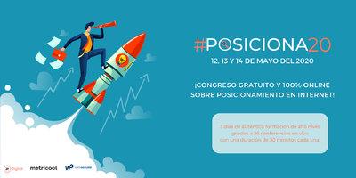"""4º edición del congreso Online de """"Posicionamiento en Internet"""""""
