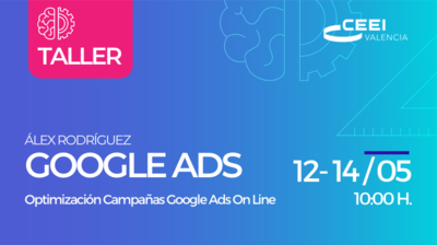 Taller Optimización Campañas Google Ads (On Line)
