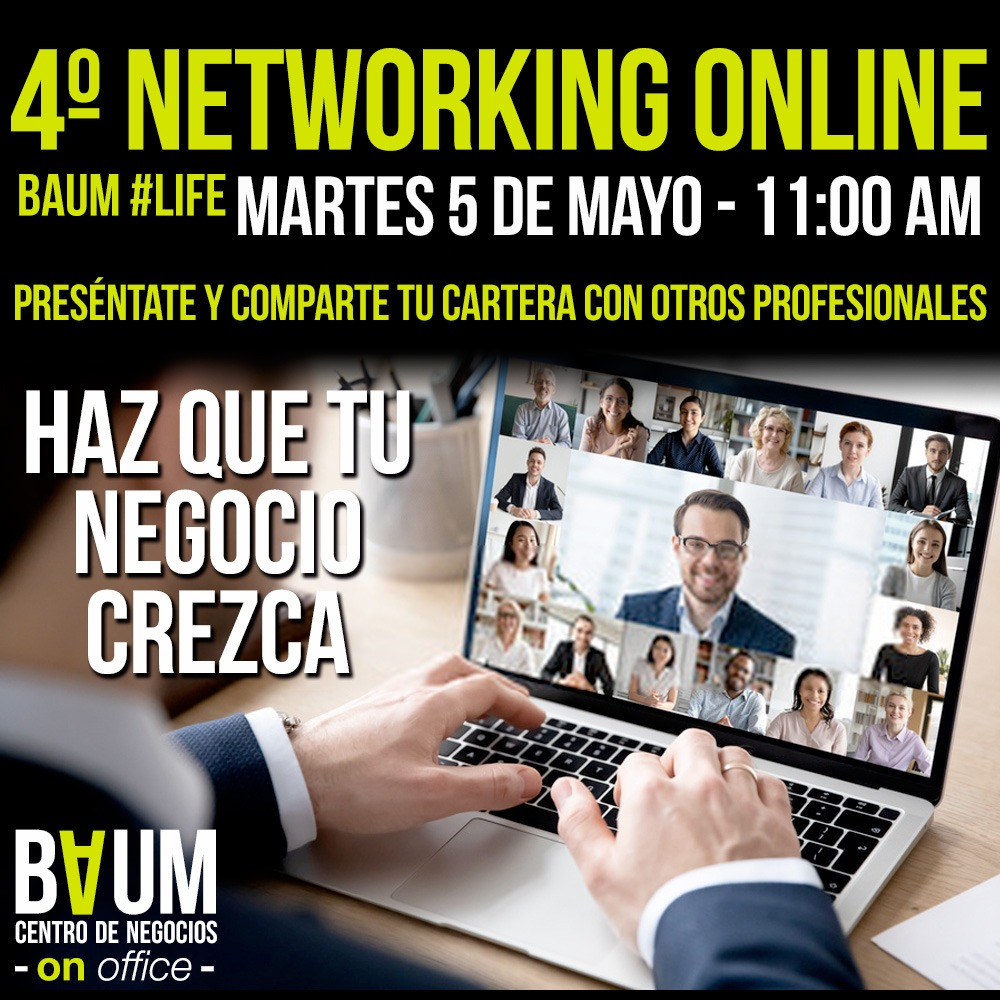 4to Networking OnLine BAUM #Life