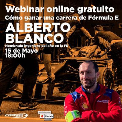 Alberto Blanco Camino: premio al mejor ingeniero del año de Fórmula E