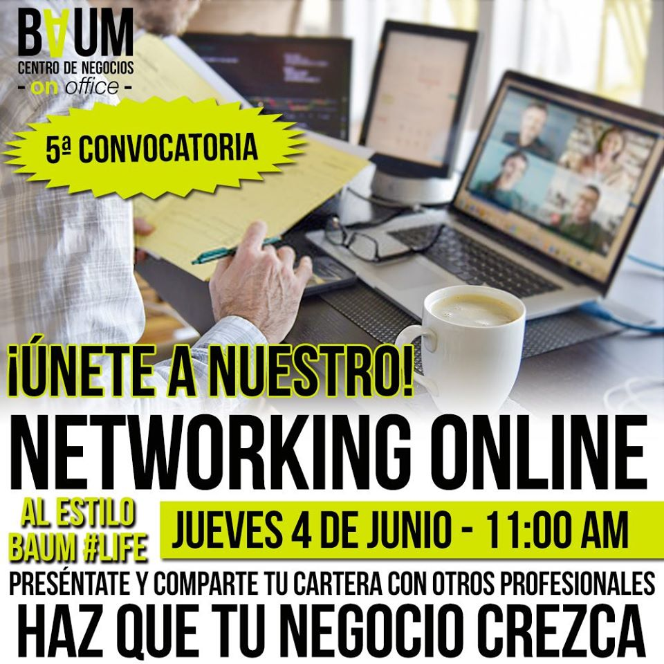 5to Networking OnLine a lo BAUM #Life