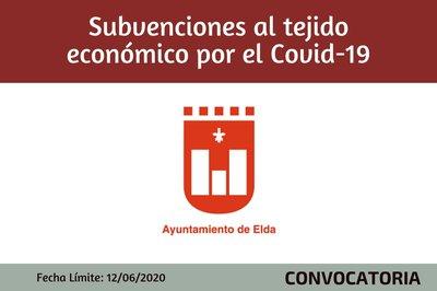 Ayudas al tejido económico de Elda por el Covid 19