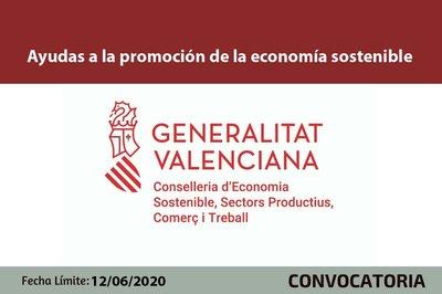 Ayudas a la promoción de la economía sostenible CV