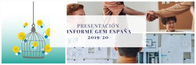 Presentación del INFORME GEM España 2019/20