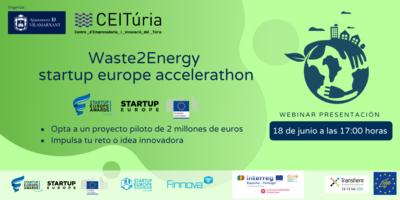 Webinar: Presentación del reto Waste2Energy