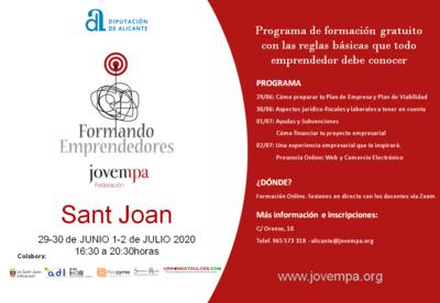 Formando Emprendedores Sant Joan