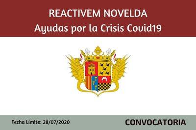 Reactivem Novelda - Ayudas por la Crisis del Covid19