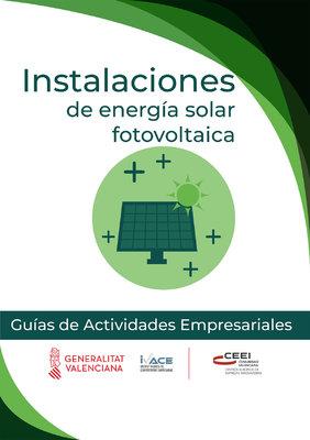 Instalaciones de energía solar fotovoltaica