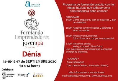 Formando Emprendedores Denia