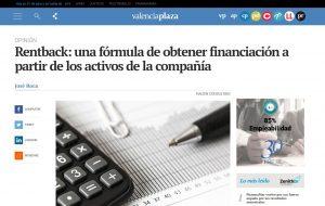 José Roca explica en Valencia Plaza el rentback: una novedosa fórmula de financiación
