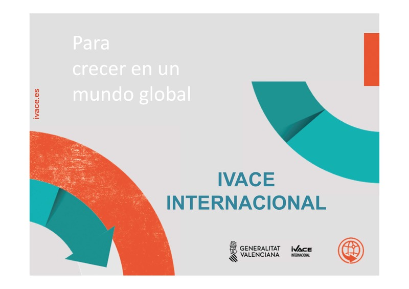 Presentación IVACE Internacional (Portada)