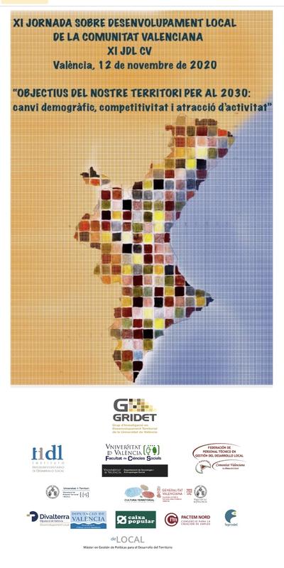 XI Jornada sobre Desarrollo Local de la Comunitat Valenciana 2020