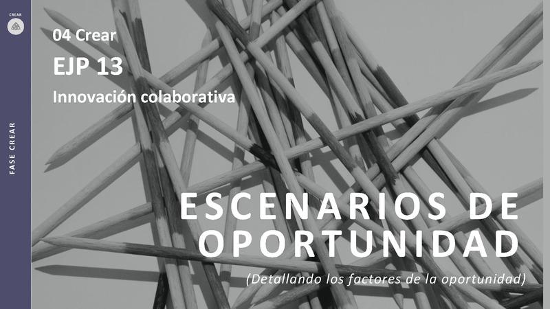 CREAR 04 Escenario de Oportunidad EJP 13 Innovación colaborativa