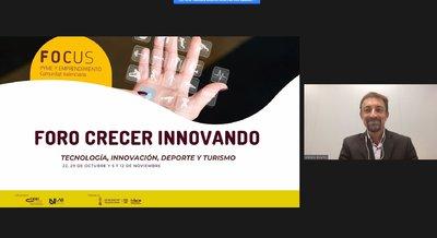 IV Sesión foro Crecer Innovando con Antonio Bolaños